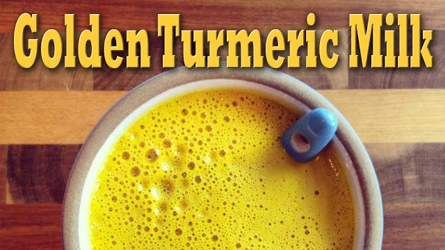 01 Turmeric Golden Milk - Recipe