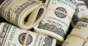 rolls of money