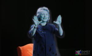 hillary_hologram