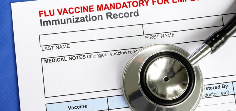 H.R. 1313 Bill Would Require Medical Procedures Like Vaccines as Requirement for Employment