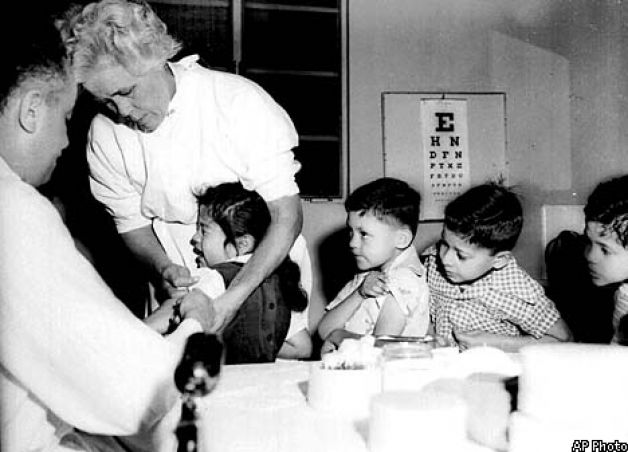 Polio-Inoculation