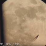 UFO OR SECRET SPACE PROGRAM? WHAT IS THIS THING FLYING ACROSS THE MOON?