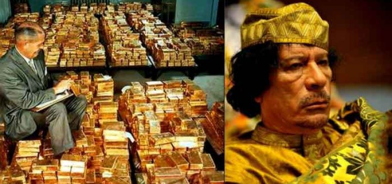 Hillary Emails Reveal NATO Killed Gaddafi to Stop Libyan Creation of Gold-Backed Currency