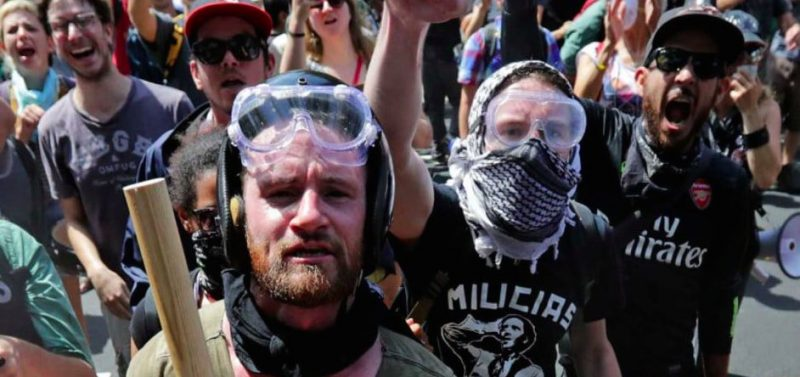 Charlottesville: black and white conflict in America