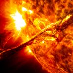 Evidence gigantic solar flares have caused rapid warming/glacial retreat since 1970
