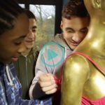 German children's channel teaches migrants how to open a bra