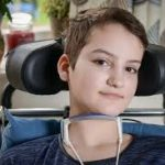 Mia, left paralyzed from the neck down after suffering a reaction to the HPV vaccine
