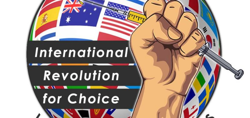 International Revolution For Choice Rally, Brisbane June 2 With Allona Lahn