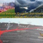 Hawaii Volcanic Eruption Intentionally Triggered to Generate Massive Tsunami (VIDEO)