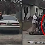 WATCH: Unarmed Dad Murdered by Cops in Front of His Kids While Trying to Rescue a Stray Dog