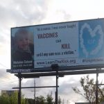After 20 Month Old Son Dies from Vaccines Professional Fighter with Nurse Wife Put Up Billboards as Warning