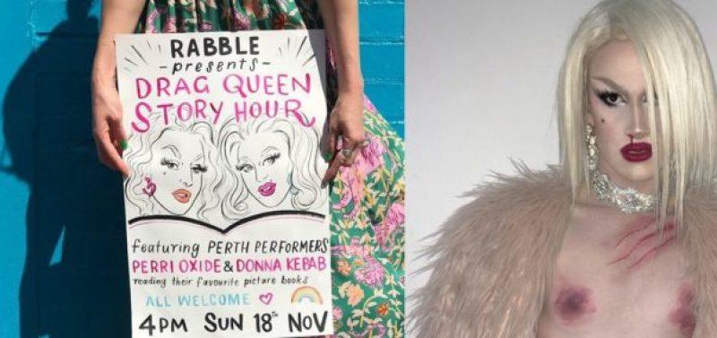 "Australian ""Drag Queen Story Hour"" Brings Erotic Performers to Children's Bookstore"