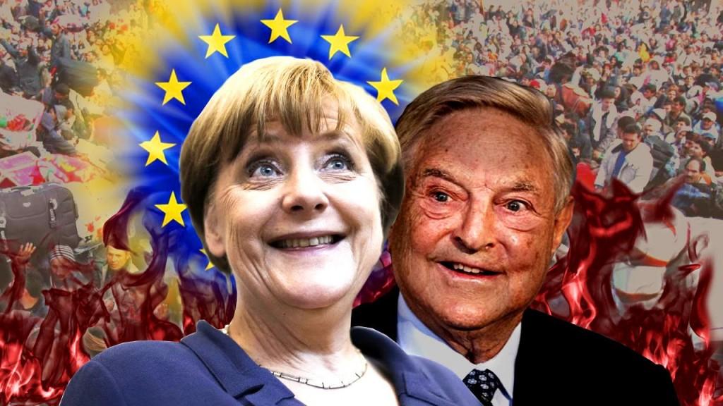 George Soros Merkel