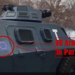 Armoured Vehicles Bearing EU Flag Deployed in Paris — Clear Sign That the European Army ALREADY Created