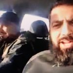 Two Muslims in the UK record a foul mouthed message to Christians