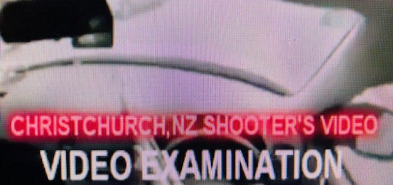 Christchurch Shooter's Video & Audio Examination