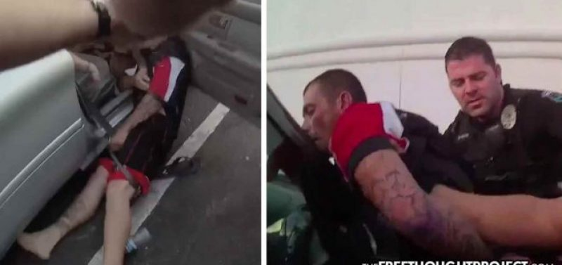 WATCH: Cops Torture Innocent Dad in Front of Kids, Pull Down His Pants, Taser His Testicles