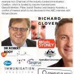 ABC Radio vaccine interview with Robert Booy fails to disclose pharmaceutical conflicts of interest