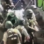 Video Shows Chilean Police (Carabineros) Beating People