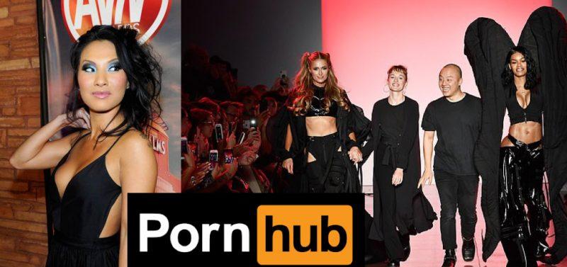 Making porn fashionable: New York Fashion Week Pornhub partnership a slap in the face for women