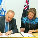Israel and NSW sign 'historic' water agreement