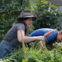 Inspiring Woman Growing a Huge Amount of Food in a Tiny Backyard in the City