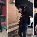 Internet Suspects Cops Provoking Riots as Shadowy Man in Black Caught Smashing Up Autozone