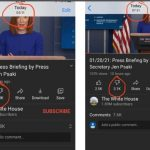 YouTube Caught Red-Handed Removing Dislikes From Biden White House Page