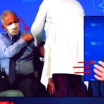 COVID THEATER: ANTHONY FAUCI APPEARS TO GET VACCINATED ON LIVE TELEVISION IN HIS LEFT ARM BUT THEN POINTS TO HIS RIGHT ARM AS INJECTION SITE AFTERWARD