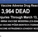 "EUROPEAN DATABASE: 3,964 DEAD 162,610 ""ADVERSE EVENTS""! POISONED TEST SWABS AND MORE!"