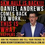 BREAKING: MELBOURNE STANDS UP AGAINST DICTATOR DAN AND HIS LOCKDOWNS