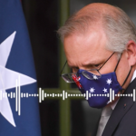 leaked audio captures Scott Morrison saying 'the time will come' when only the fully-vaccinated may be allowed into bars and restaurants