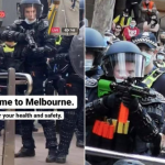 """""""POLICE STATE OZ"""" Chaos In Melbourne – 21.08.21"""
