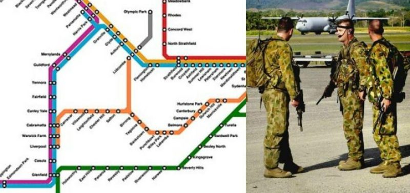 The Laws Governing the Military's Deployment on the Australian Public