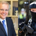 'Living in a parallel universe' PM boasts of Aussies' love of freedom to UN as police crackdown continues