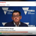 """Petition Calling For Victorian Premier to Resign Gathers Over 150k Signatures: """"He Must Be Held Accountable"""""""