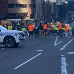 Tradies PROTEST new Covid restrictions in Melbourne