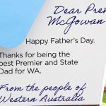 """Daddy Government: WA Citizens Asked to Wish """"State Dad"""" a Happy Father's Day"""